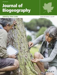 Cover Journal of Biogeography, Volume 46, Issue 7