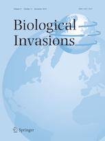 Cover Biological Invasions, Volume 21