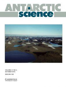 Cover Antarctic Science, Volume 31