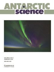 Cover Antarctic Science, Volume 30