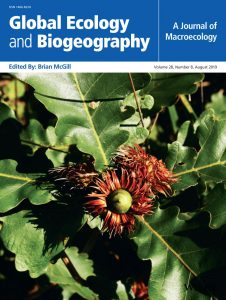 Cover Global Ecology and Biogeography, Volume 28, Issue 8