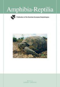 Cover Amphibia-Reptilia, Volume 40 (2019): Issue 4 (Jan 2019)